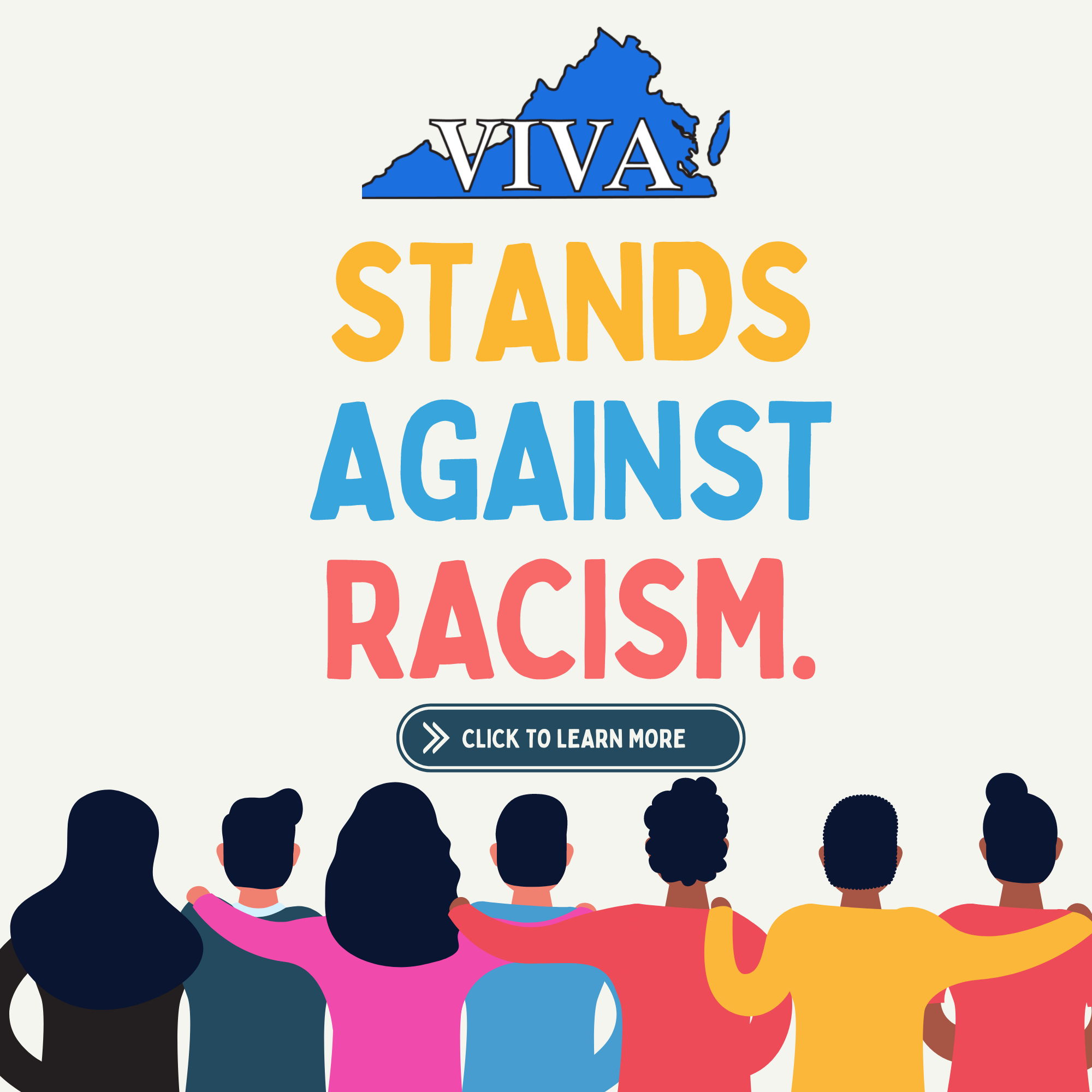 VIVA Stands Against Racism