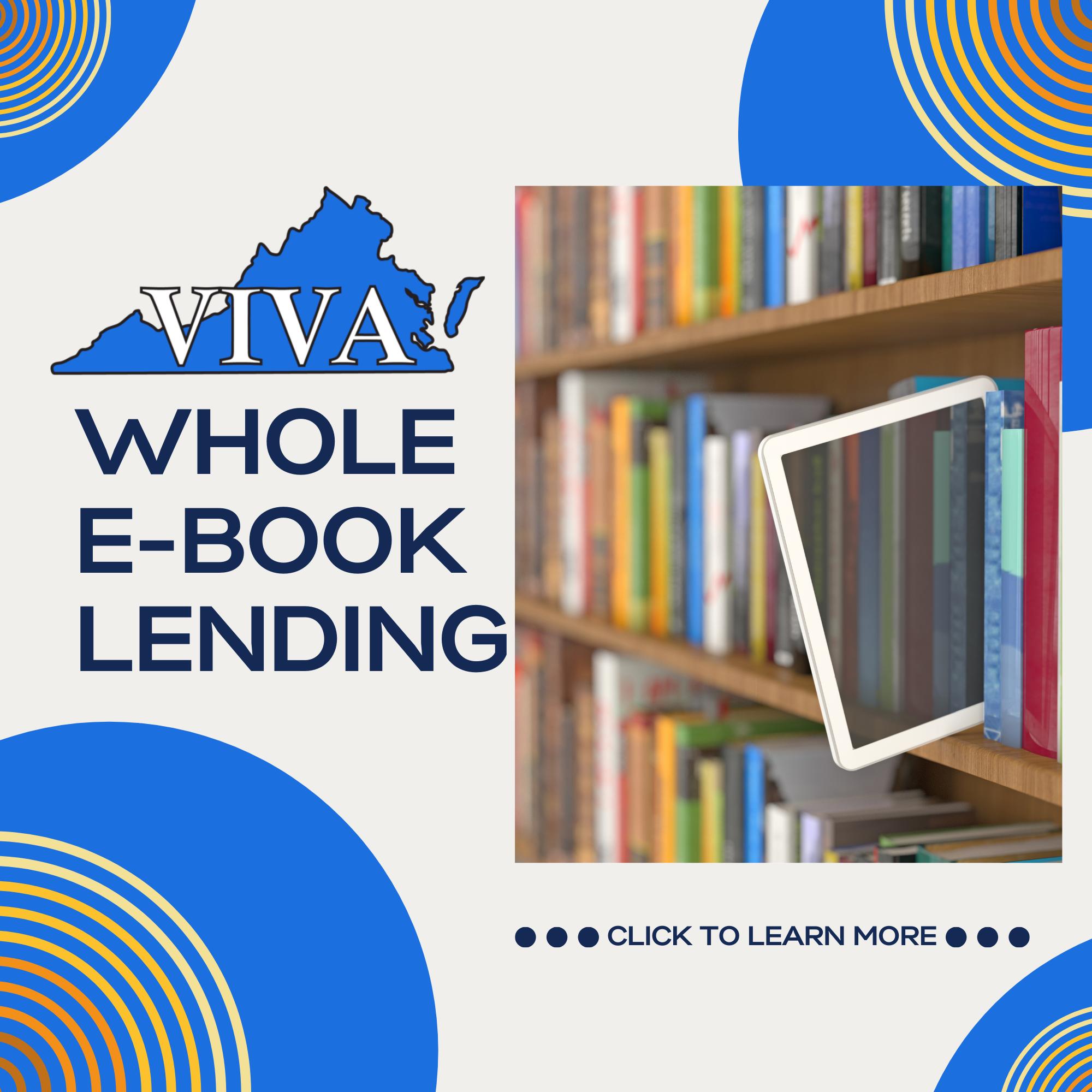 VIVA whole e-book lending