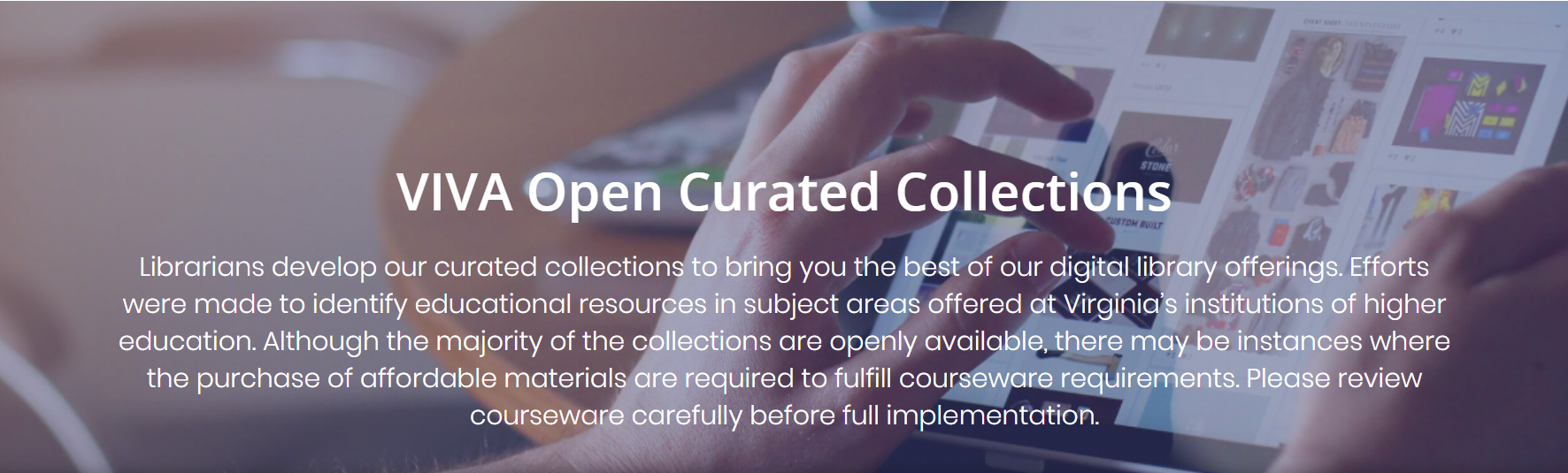 VIVA Open Curated Collections