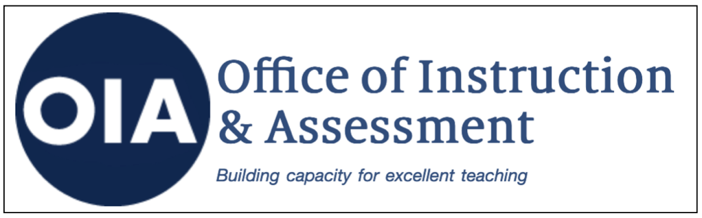 Office of Instruction & Assessment