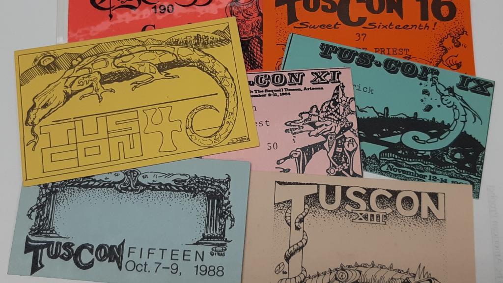 TusCon Science Fiction Convention ephemera, 1974-2014