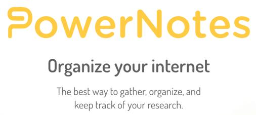 PowerNotes: organize your internet