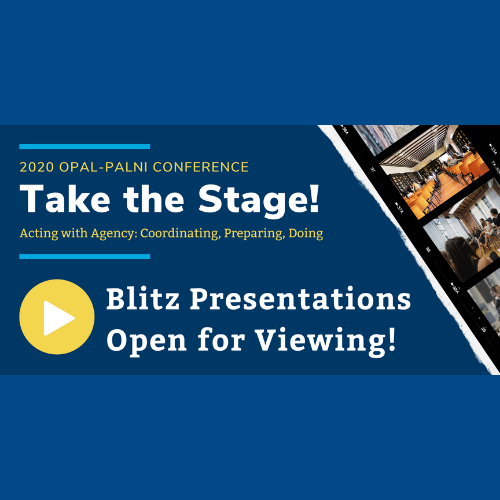 Blitz Presentations Are Open for Viewing