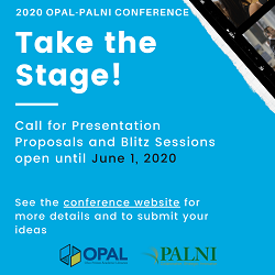 2020 OPAL-PALNI Conference Call for Proposals