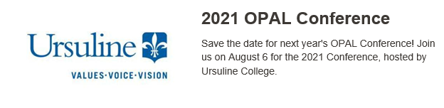 2021 OPAL Conference at Ursuline College