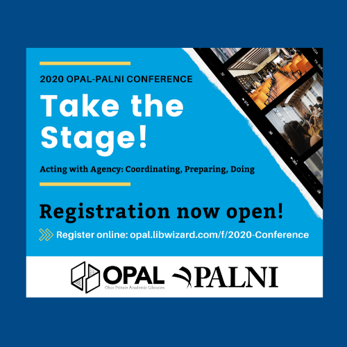 Registration for the 2020 OPAL-PALNI Conference is now open
