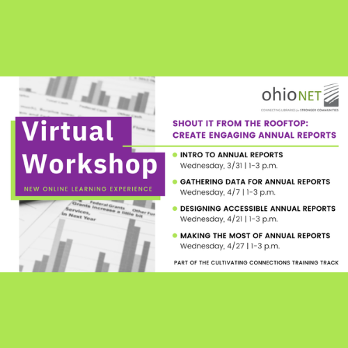 Link to announcement about new virtual workshops