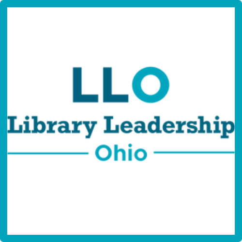 Logo links to library leadership Ohio website