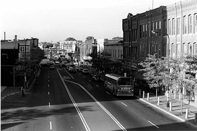 Photograph of Cedar Avenue in 1979