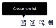create-list icon