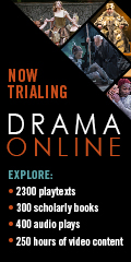 Banner for Drama Online database trial