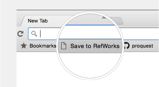 RefWorks browser button