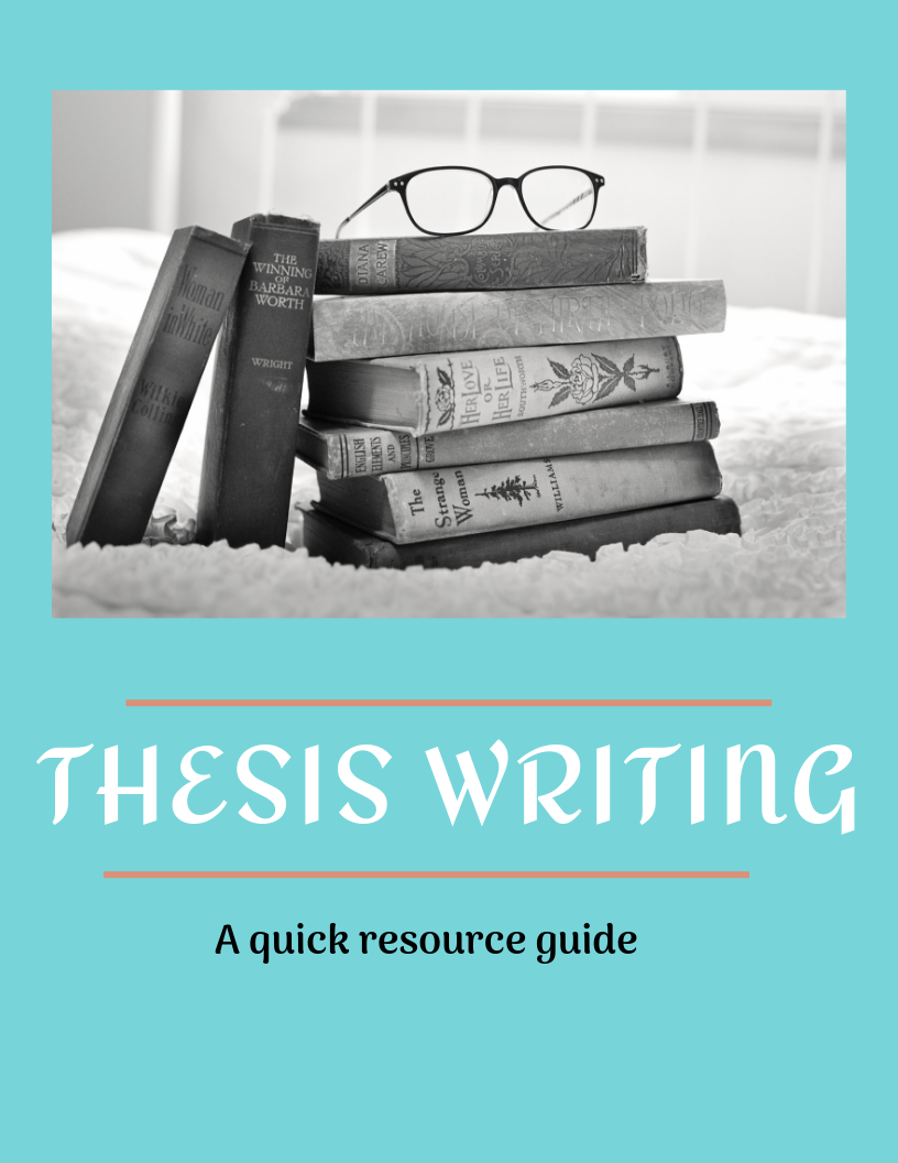 Thesis Writing: A Quick Resource Guide title page