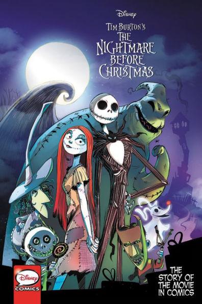 Cover art for Tim Burton's Nightmare Before Chrismas