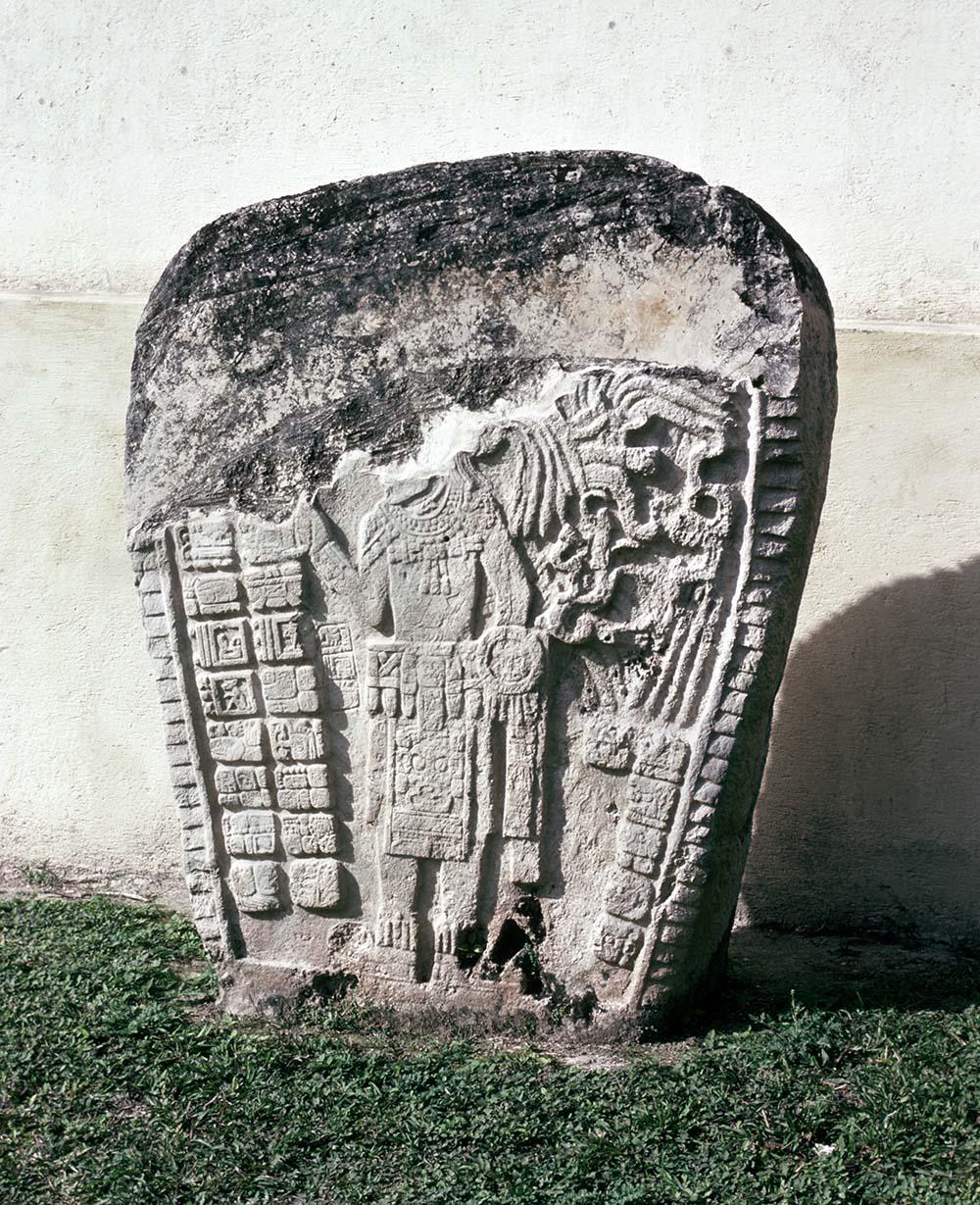 Stela 1, Jimbal, El Peten