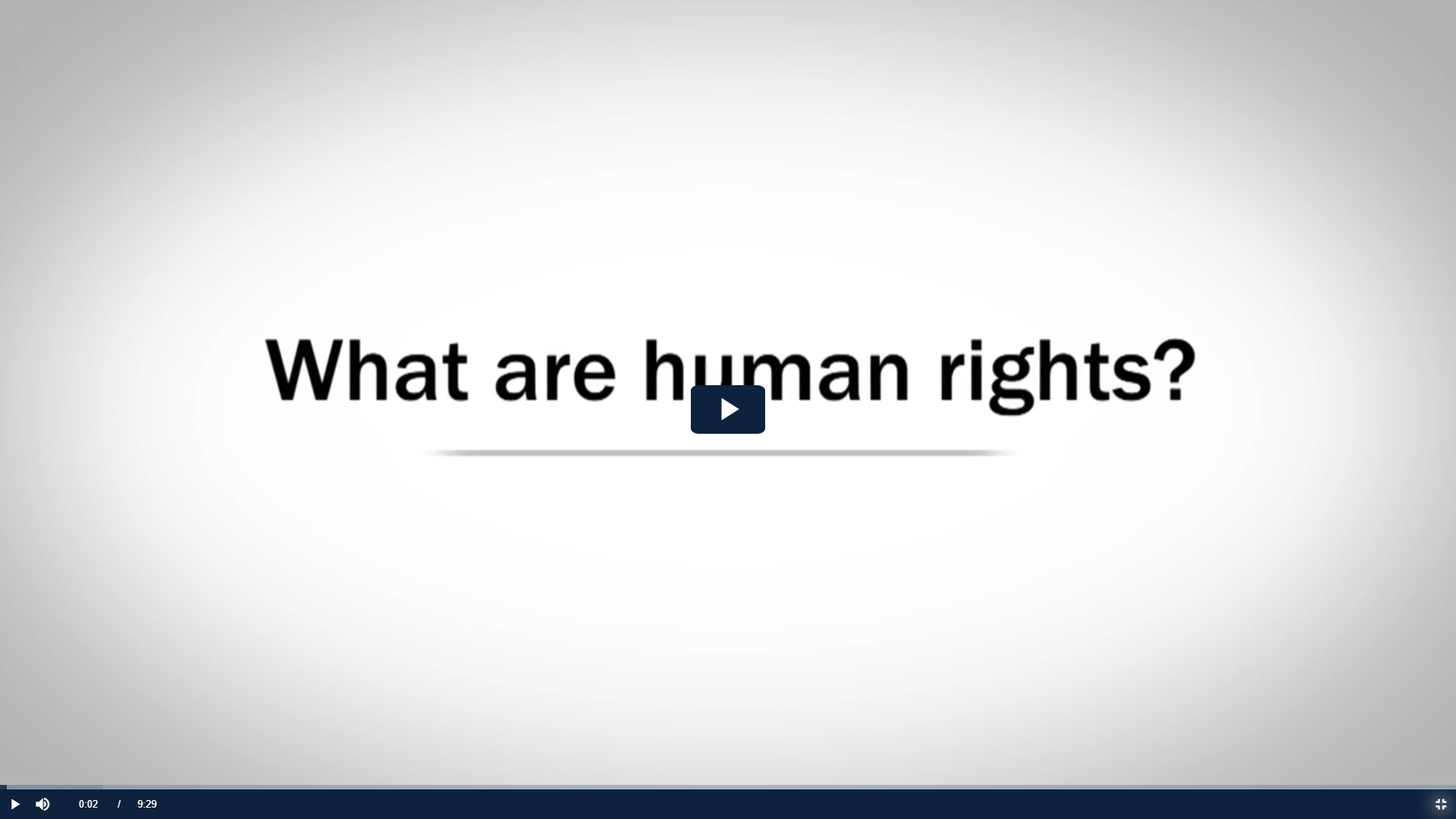 Link to video on human rights introduction
