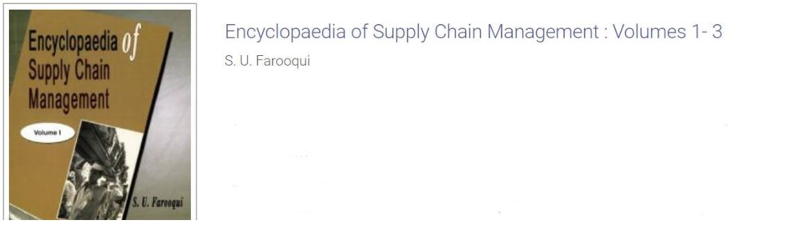 Encyclopaedia of Supply Chain Management