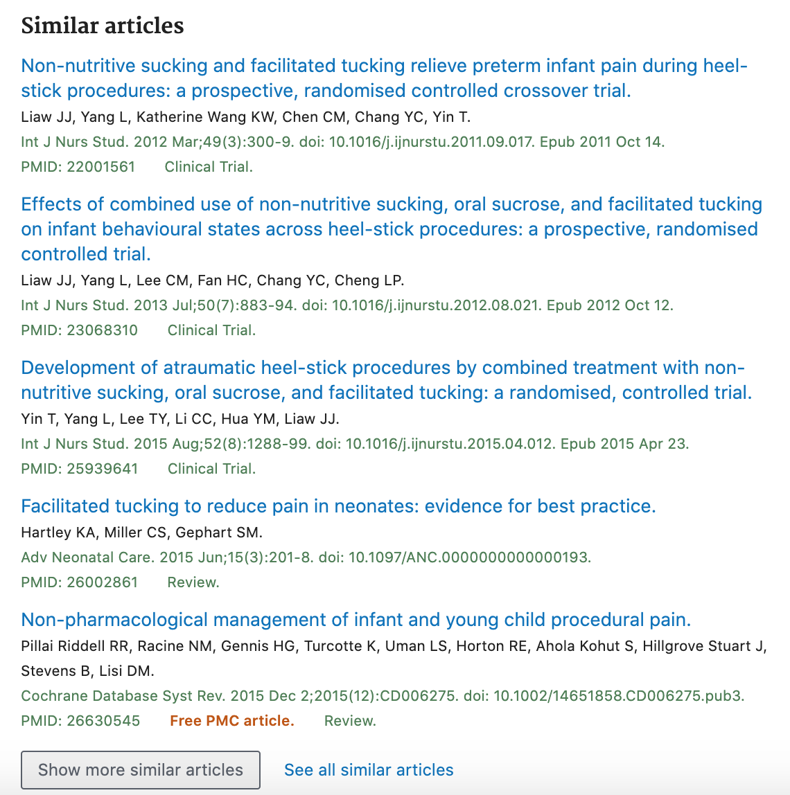 Similar articles for one citation