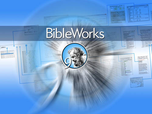BibleWorks 9 for Windows & Mac, bible study software, Hebrew, Greek,  Aramaic, Latin & Syriac biblical exegesis software - BMSoftware