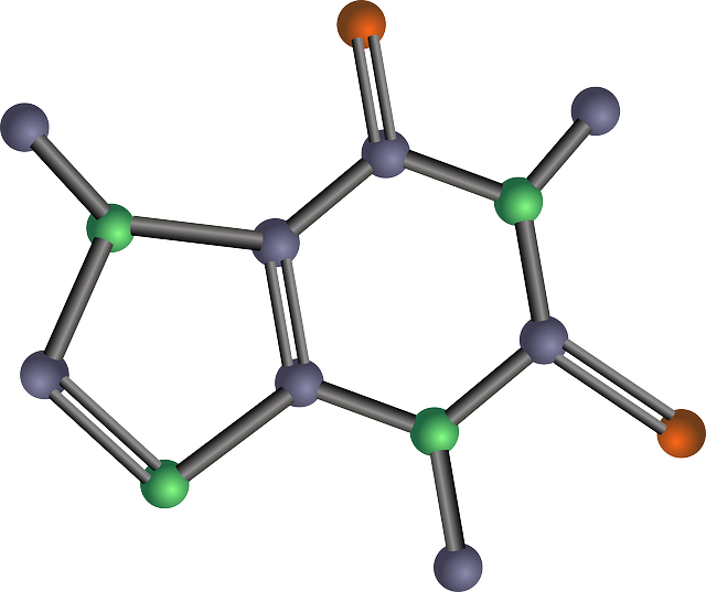 A molecular model of caffeine