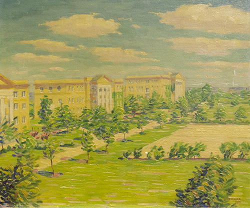 View of TCU Campus by S. P. Ziegler