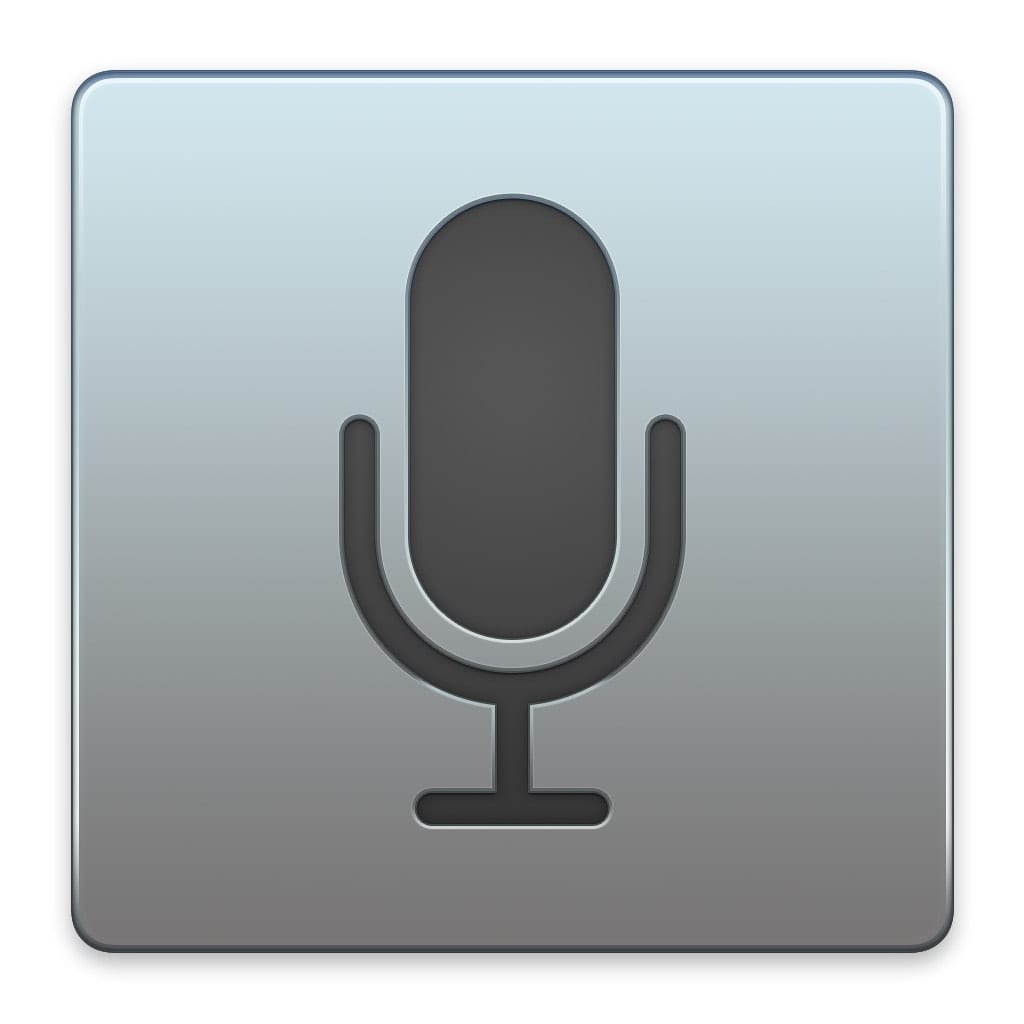 ipad microphone icon