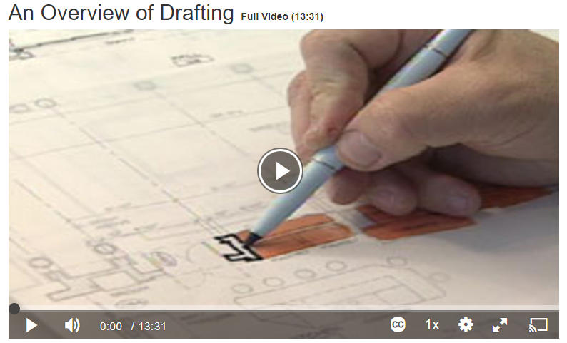 An Overview of Drafting Screenshot