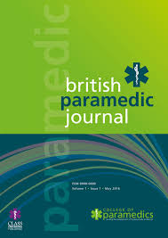 British Paramedic Journal Clipart