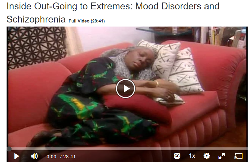 Inside Out- Going to Extremes: Mood Disorders and Schizophrenia Screenshot
