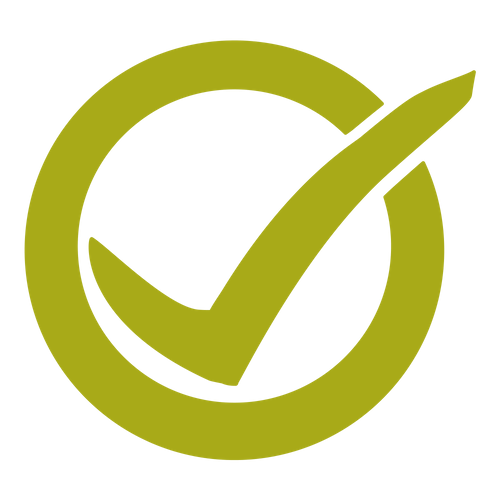 Icon of a checkmark.