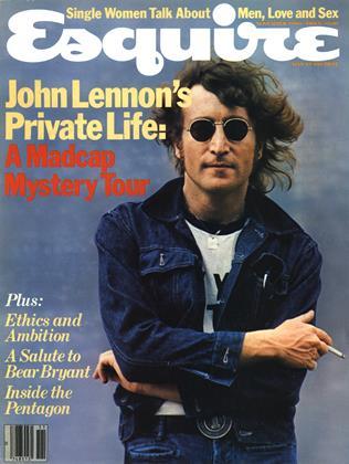 Esquire cover, John Lennon