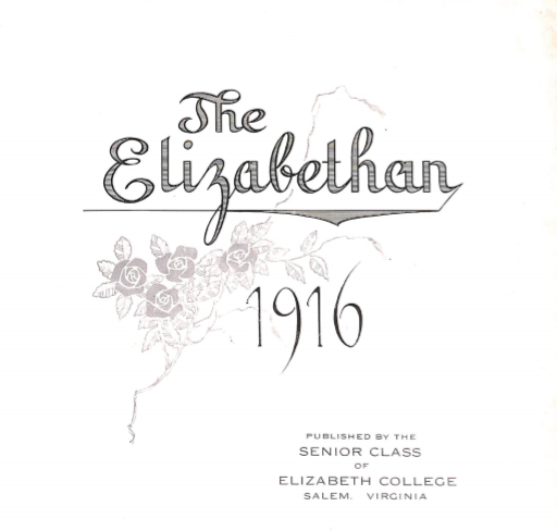 Elizabethan 1916 Yearbook