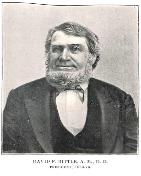 David Bittle - Roanoke College President
