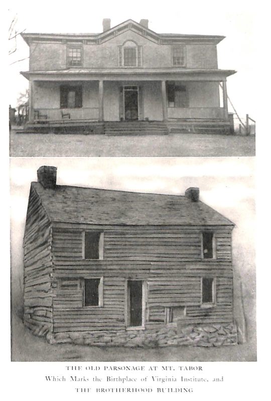Old Parsonage at Mt. Tabor
