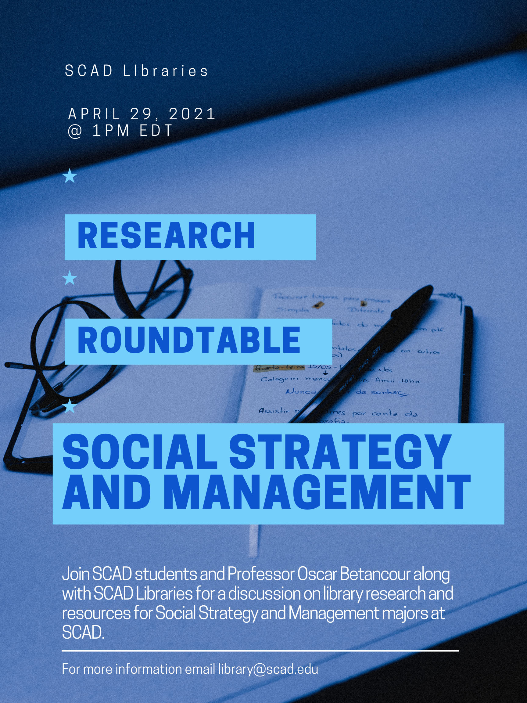 Research Roundtable Flyer