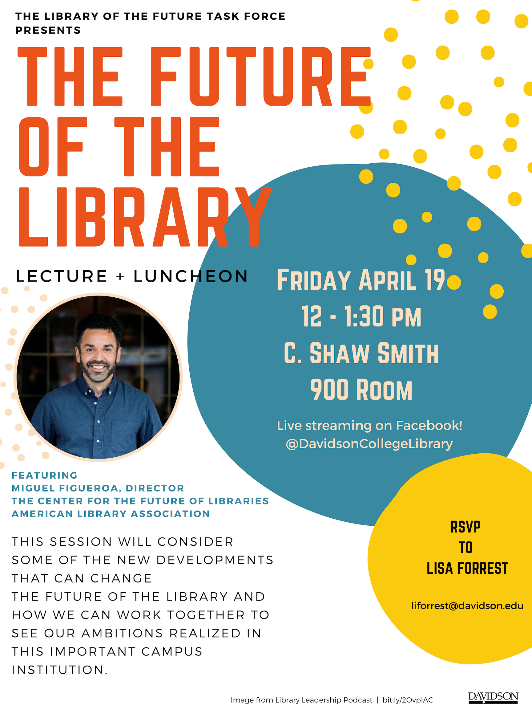 library of the future event poster