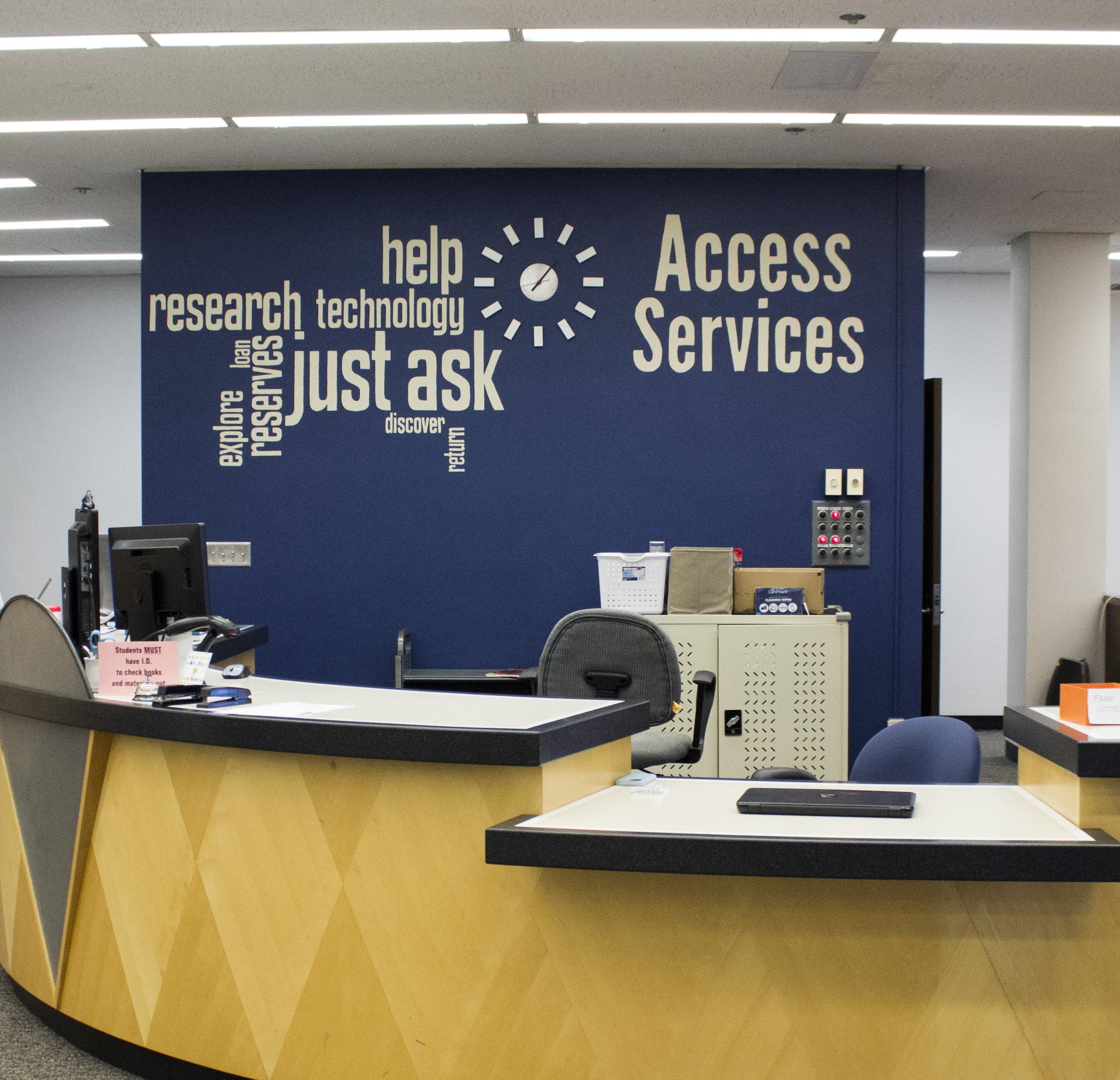 Access Services Desk Image