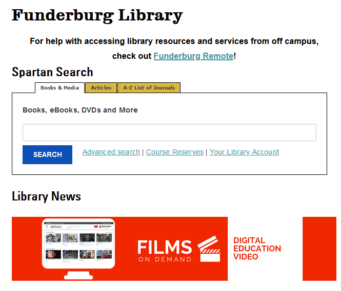 Image of Manchester's Library Website
