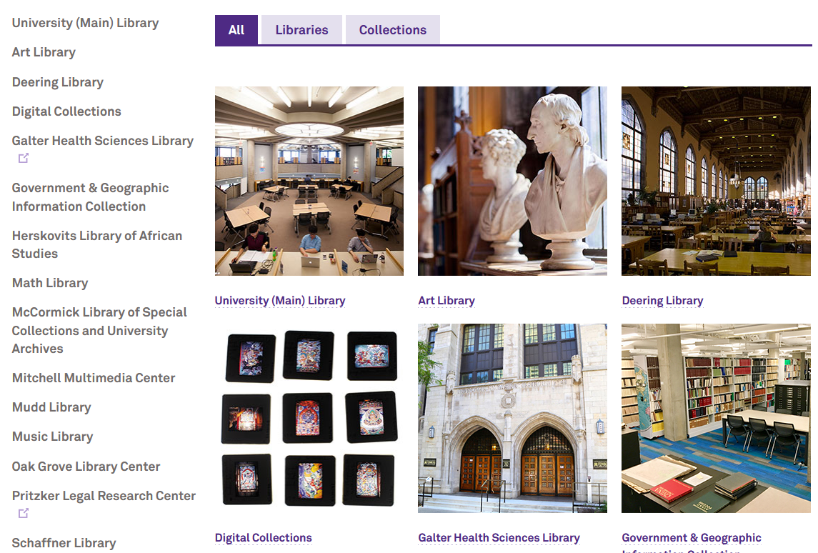 Northwestern Collections