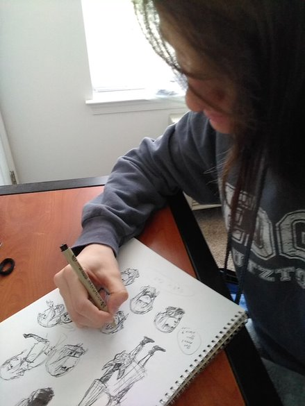 Shannon Rosser drawing