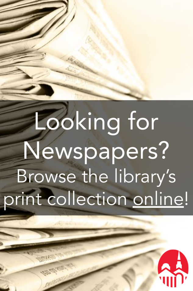 Browse the library's print publications online