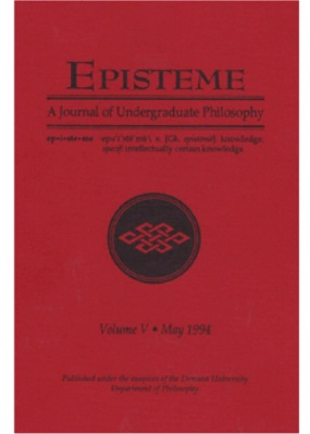 Episteme Journal