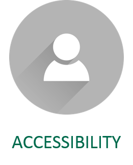 accessibility considerations for open educational resources icon and link