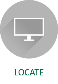 Locate Open Educational Resources Icon and Link