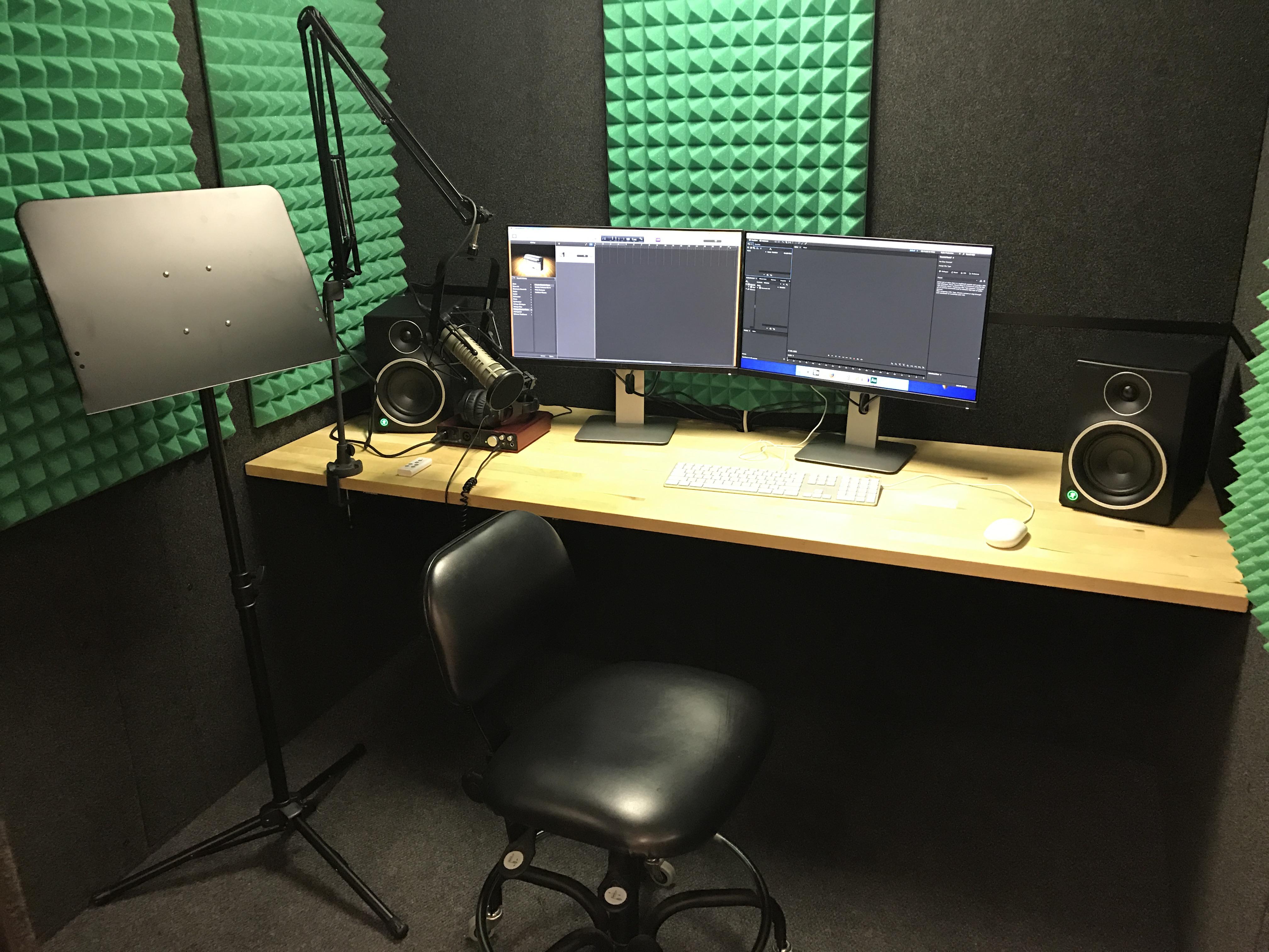Photo of one audio studio