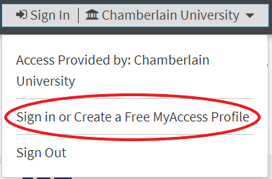 Access Medicine Sign in or Create a Free MyAccess Profile
