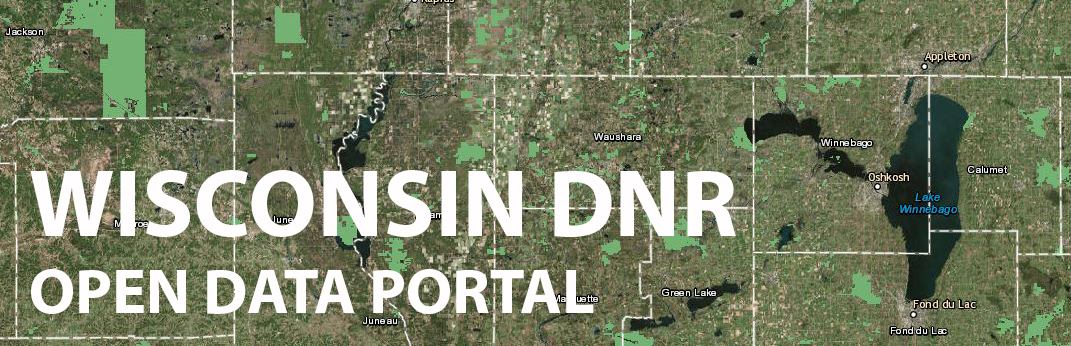 Wisconsin DNR Open Data Portal