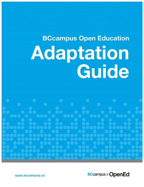 Adaptation guide