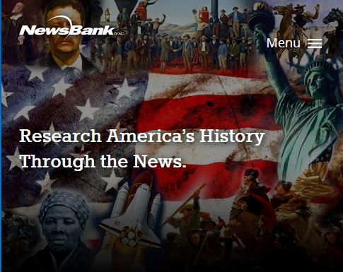 americas historical newspapers database