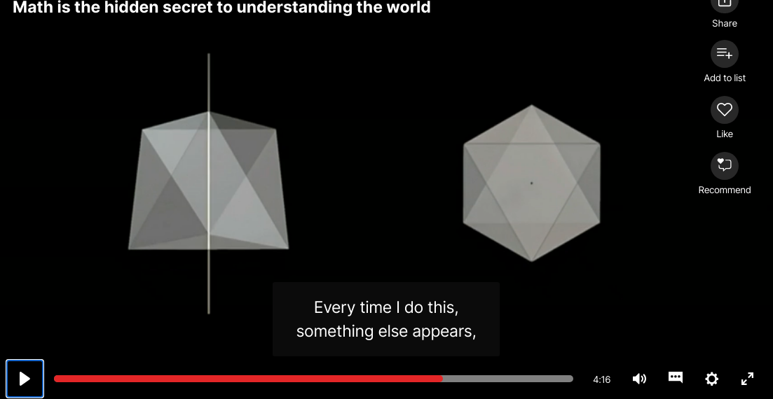 Ted Talk Mat is the hidden secret to understanding the world